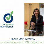 """Shara Martín """"las PYMES necesitan ayuda real para poder poner en marcha políticas de PRL en el ámbito de la seguridad vial"""""""