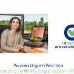 """Paloma Urgorri """"La cultura de la prevención está interrelacionada con la cultura de la organización"""""""
