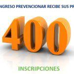El Congreso Prevencionar recibe sus primeras 400 inscripciones