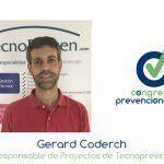 """Gerard Coderch """"La gestión de la PRL no puede quedar aislada del resto de la cultura de la empresa"""""""