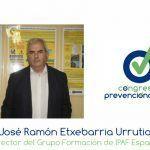 """J. Ramón Etxebarria """"Tenemos que adquirir un compromiso serio con la seguridad"""""""
