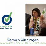 """Carmen Soler """"la clave para ser una organización saludable es la actitud"""""""