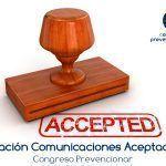 Relación de Comunicaciones Aceptadas