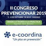 e-coordina patrocinador del II Congreso Prevencionar 2019