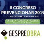 Gespreobra patrocinador del II Congreso Prevencionar 2019