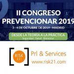 RISK XXI – Prl & Services patrocinador del II Congreso Prevencionar 2019
