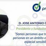 """José Antonio Grandio """"Somos personas que trabajan para personas en un ámbito empresarial de especial sensibilidad"""""""