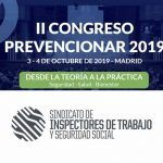 El Sindicato de Inspectores de Trabajo y Seguridad Social (SITSS) se suma al II Congreso Prevencionar