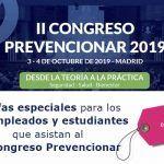 Tarifas especiales para los desempleados y estudiantes que asistan al II Congreso Prevencionar